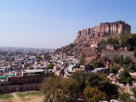Jodhpur - Fuerte de Mehrangarh 02