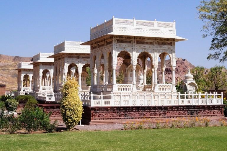 Blue City of Jodhpur - Jaswant Thada 06
