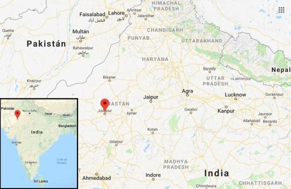 Mapa Jodhpur Ciudad Azul 1024x668 - Blue City of Jodhpur and Mehrangarh Fort in 1 day