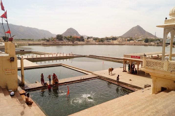 Pushkar - Ghats del Lago de Phuskar