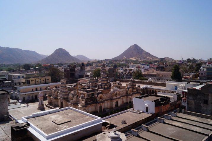 Pushkar - Vistas desde el ático
