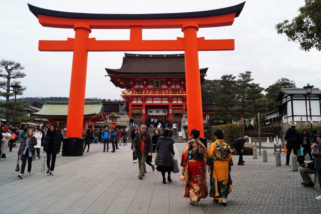 Kioto - Fushimi-Inari Taisha - Entrada