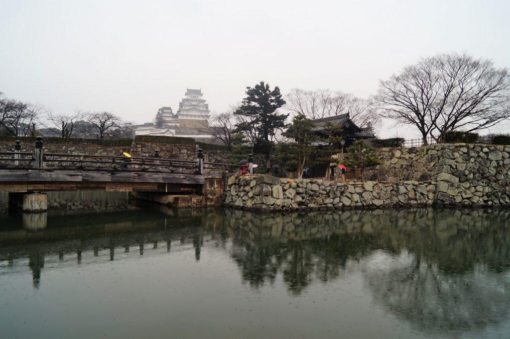 Japón Castillo de Himeji Entrada 1024x682 - El castillo de Himeji y el castillo Okayama en un día