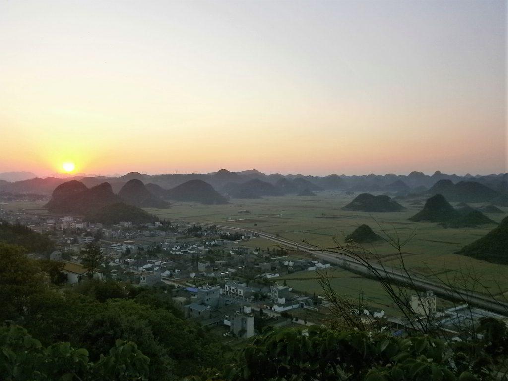 Yunnan - Amanecer en Luoping