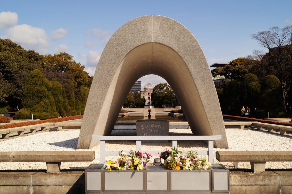 Hiroshima Memorial Monument 1024x682 - Today's Hiroshima; a symbol of world peace