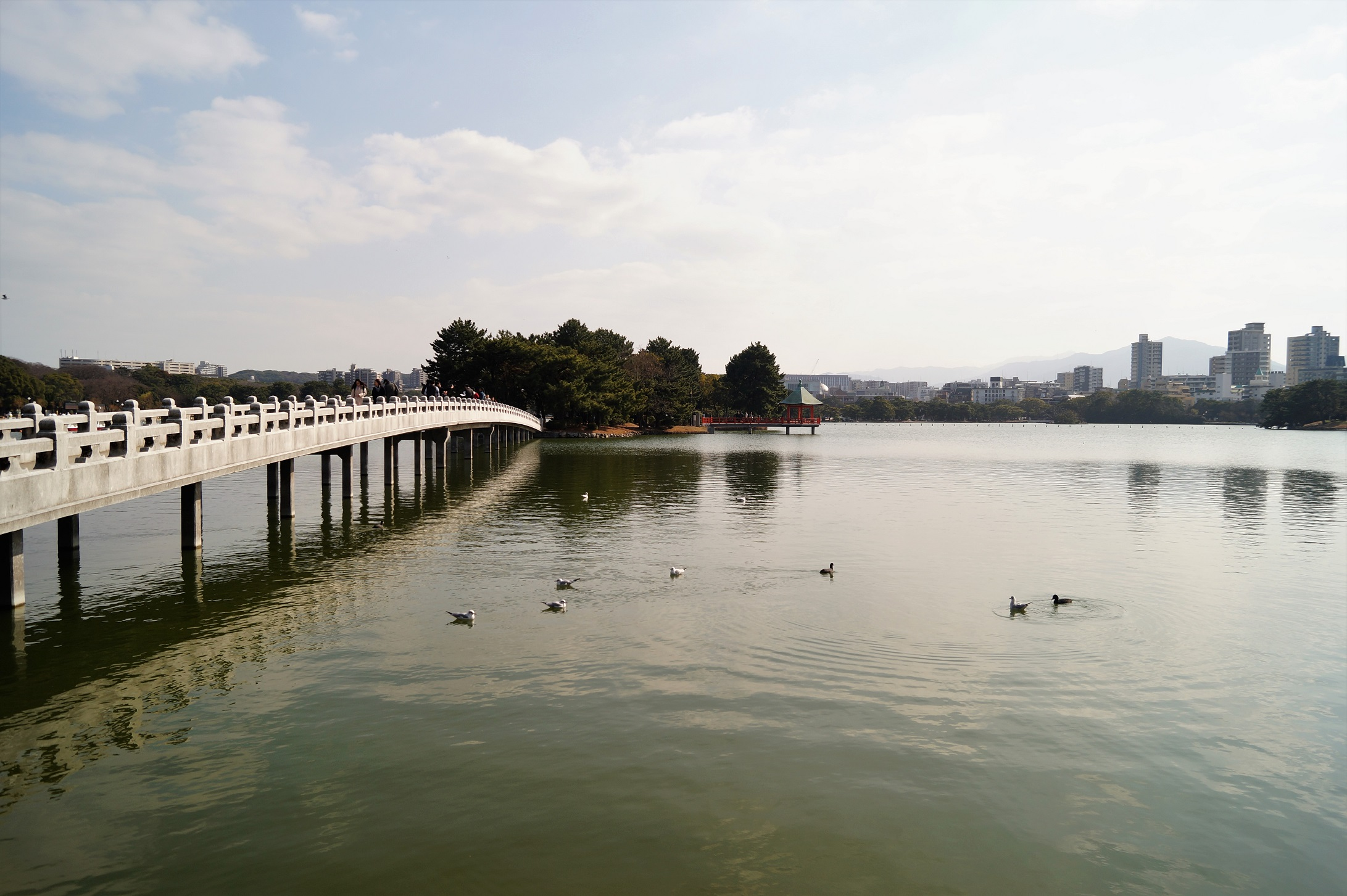 Qué ver en Fukuoka Parque Ohori - What to see in Fukuoka; an ideal place to live