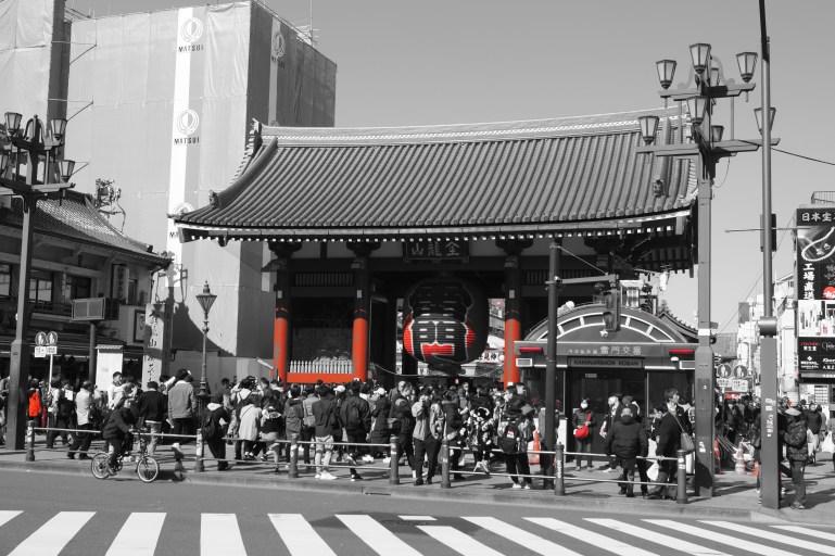 Tokio - Asakusa - Templo Senso-ji