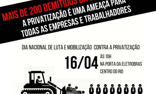 SENGE convoca para a luta e a mobilização contra privatização e contra demissões