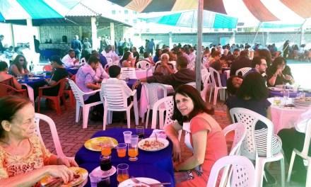 Almoço de comemoração da formatura da FUMEC