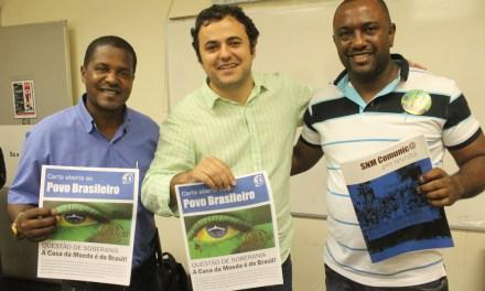 Lançamento da Campanha 'Eu Não Vendo o Meu País'