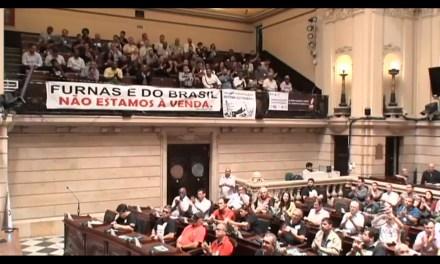 Audiência pública em defesa das estatais na Câmara Municipal