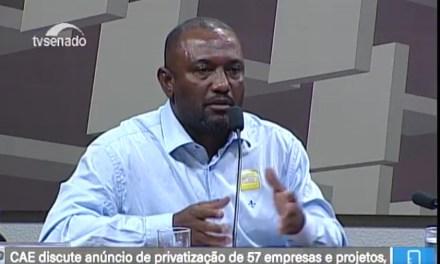 SNM participa da Audiência sobre as privatizações no Senado Federal