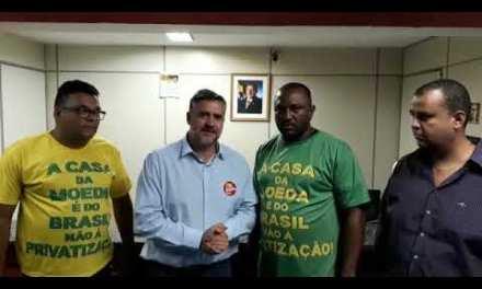 Deputado Paulo Pimenta, líder do PT na Câmara, se posiciona contra a privatização da Casa da Moeda