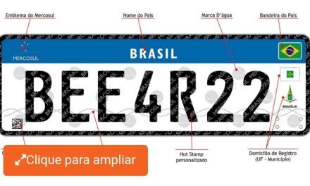 """A """"novela"""" das novas placas no Brasil continua…"""