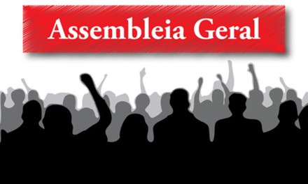 Convocação para Assembleia quinta-feira, 7 de junho
