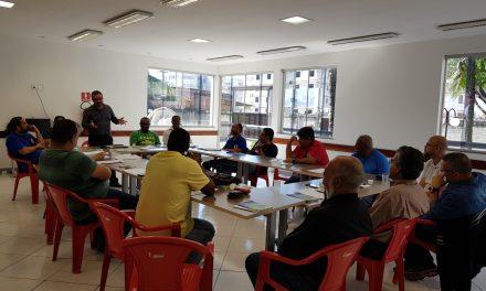 O SNM recebe em sua sede o ex-prefeito de Itaguaí e pré-candidato Weslei Pereira