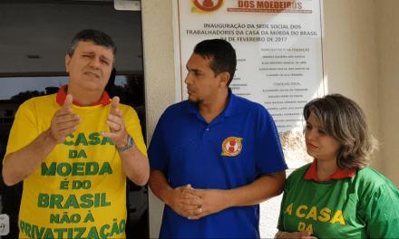 Ex-superintendente do MTE Robson Leite visita sindicato dos Moedeiros