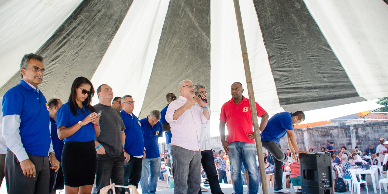 Dia dos moedeiros e da padroeira é comemorado em grande estilo no sindicato