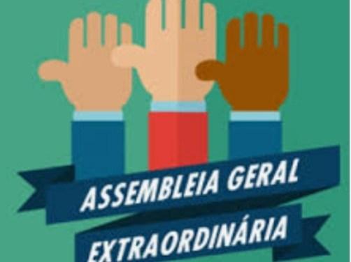 EDITAL DE CONVOCAÇÃO ASSEMBLEIA GERAL EXTRAORDINÁRIA dia 26/02/19