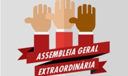 ASSEMBLEIA GERAL EXTRAORDINÁRIA 13 DE JUNHO DE 2019 (QUINTA-FEIRA)