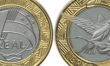 Nova moeda de R$ 1 será lançada nesta semana e homenageia cédula com beija-flor