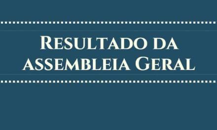 RESULTADO DA ASSEMBLEIA DE HORAS EXTRAS – DEMOM / DEGER