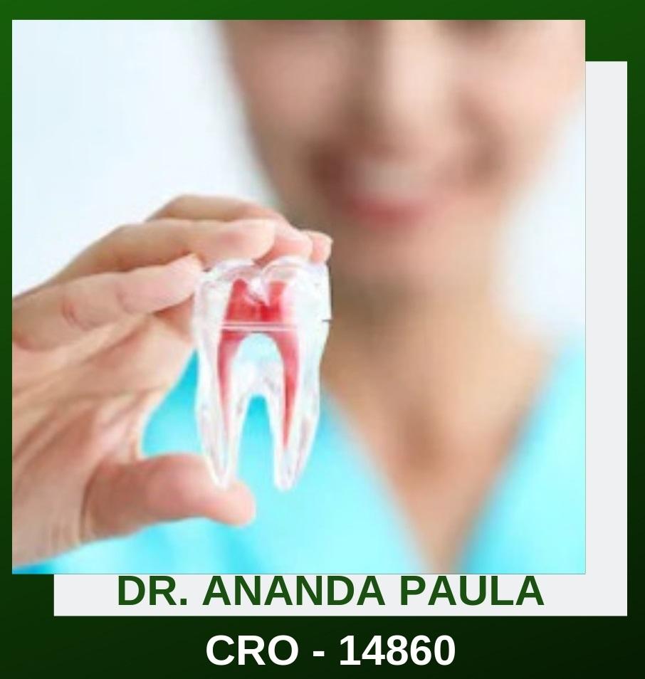 DR. ANANDA PAULA LELES DE SOUZA – CRO 14860
