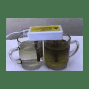محطات تحلية المياه المنزلية خدعة تحليل الماء بالاقطاب الكهربائية