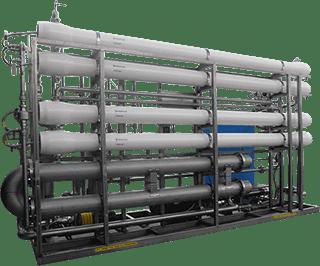 حلول المياه محطة تحلية بنظام التناضح العكسي للابار