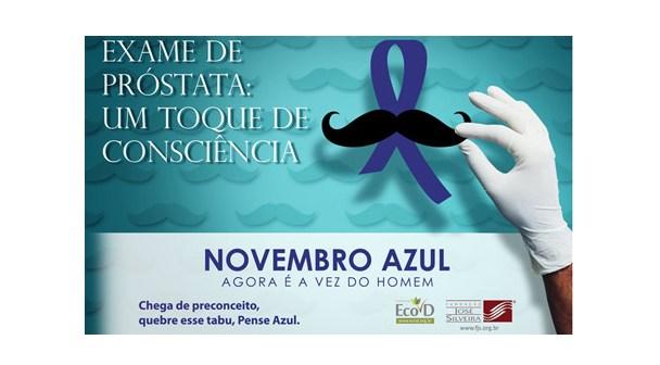 17 de novembro – Dia Nacional de Combate ao Câncer de Próstata