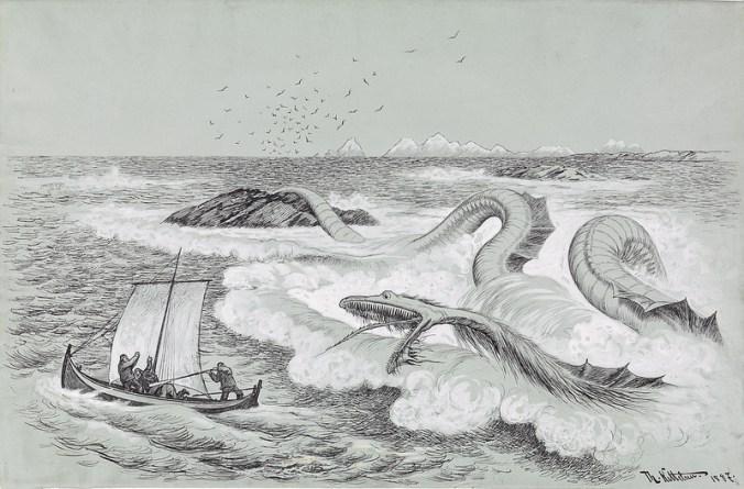 1887 Illustration for Troldskab