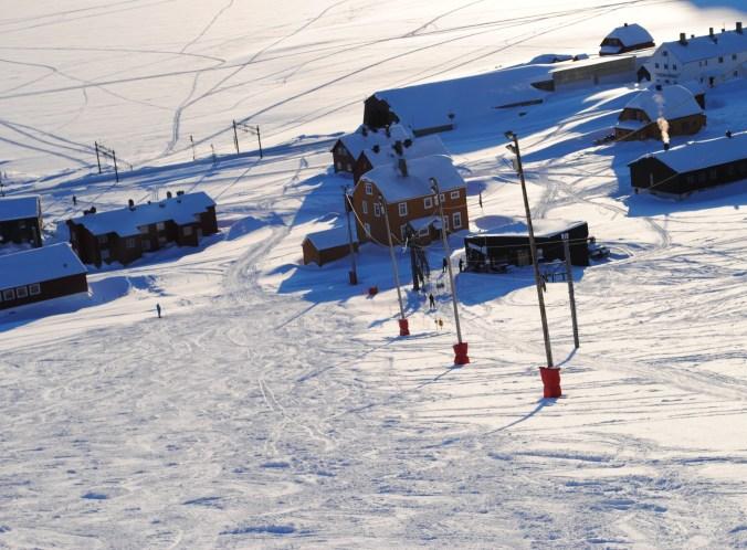Finse downhill