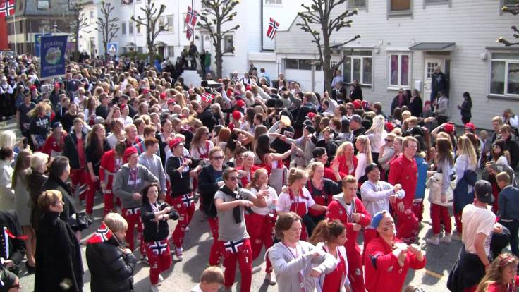 norwegian russ celebration