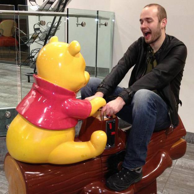 winnie the pooh kiddie ride