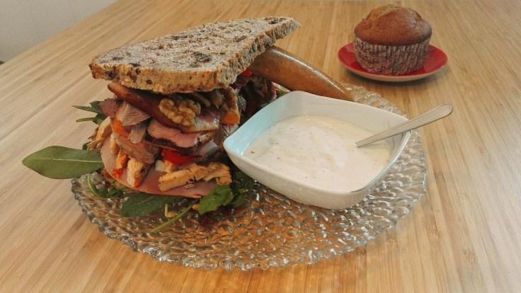 ninja sex party The Ultimate Sandwich Recipe muffin sausage