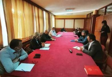 Održan sastanak sa predstavnicima Sindikata Uprave i pravosuđa CG