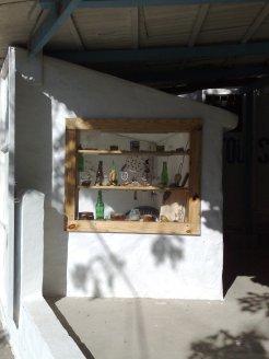 Ausstellungsraum Fenster seite