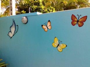 Schmetterlinge malen