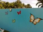 Butterflies paint