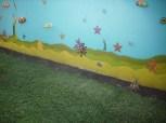 Wanddekoration Meeresgrund