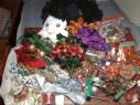 Grosseinkauf fuer Weihnachtsdeko