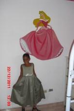 Disney-Prinzessin gemalt