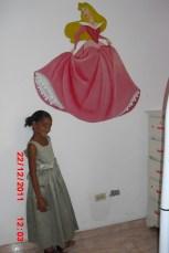 Prinzessin Wandbild