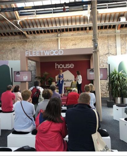 HOUSE 2018- Sinead Cassidy on the Inspiration Stage for Fleetwood