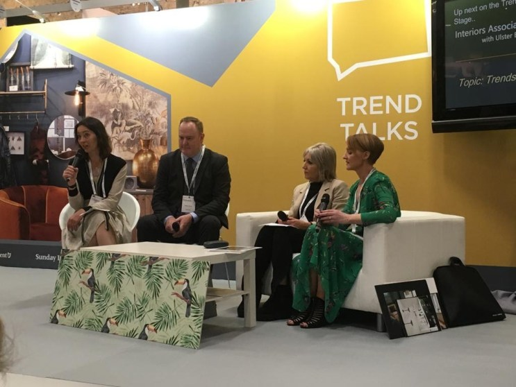 Trend Talks stage with Eleanor Flegg from the Irish Independent