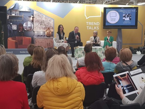 RDS Trend Talks stage with Eleanor Flegg from the Irish Independent