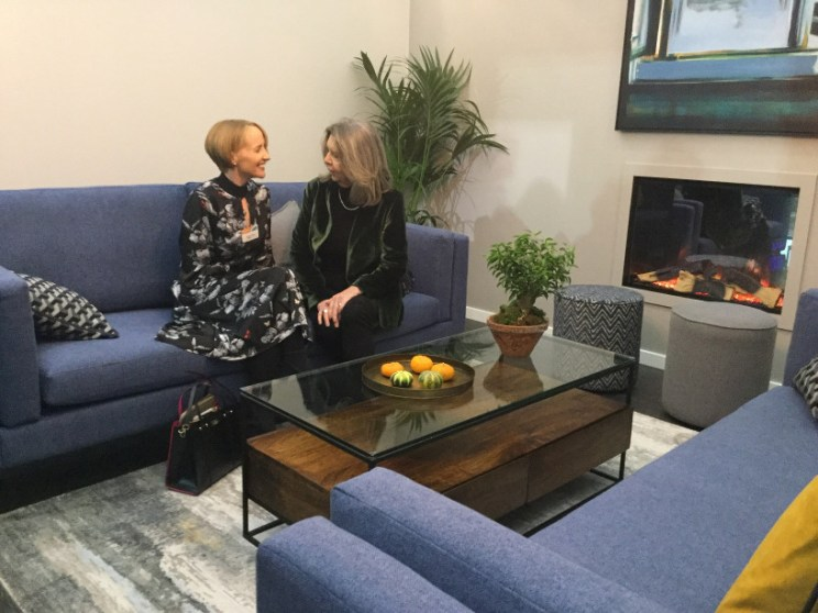 RDS- Ideal Homes- Sinead with Helen McAlinden