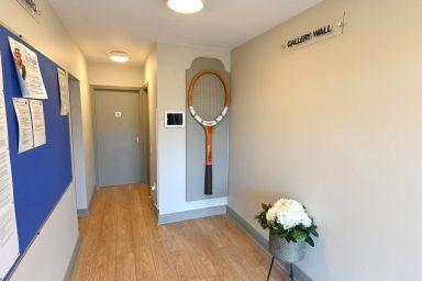 Entrance at Douglas Tennis Club