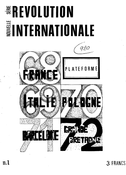 1972-12 révolution internationale