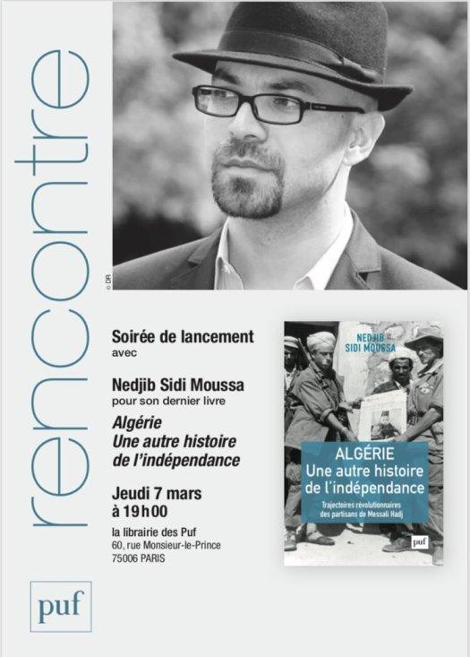 Algérie, une autre histoire de l'indépendance : soirée de lancement le 7 mars à Paris